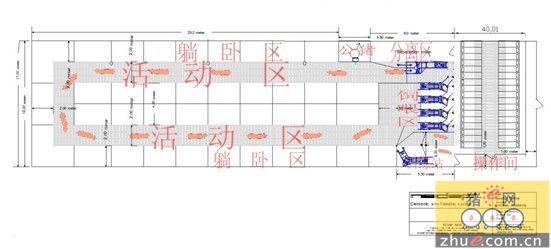 生态猪场设计图平面图