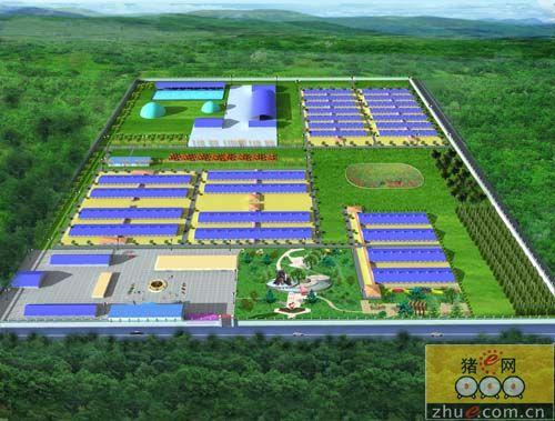 天园生态养殖;; 猪场规划设计; 京鹏猪场建设专题>猪场规划设计图片
